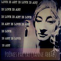Love is art Visuel pour Perf